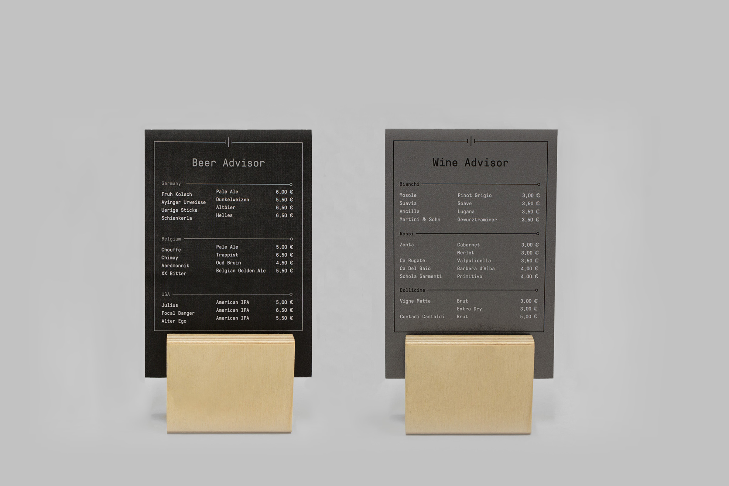 Wooden Menu Holders For Restaurants And More PlungToolscom - Table menu holders for restaurants